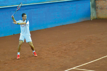 Santi en Copa Davis de tenis 2015 Colombia vs Japon