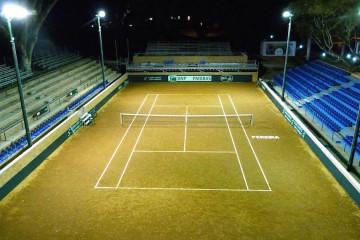THE OPENING OF THE COURT STADIUM SANTIAGO GIRALDO