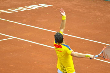 IT ONLY REMAINS THANKING AND TO KEEP ON WORKING! DAVIS CUP COLOMBIA 2015