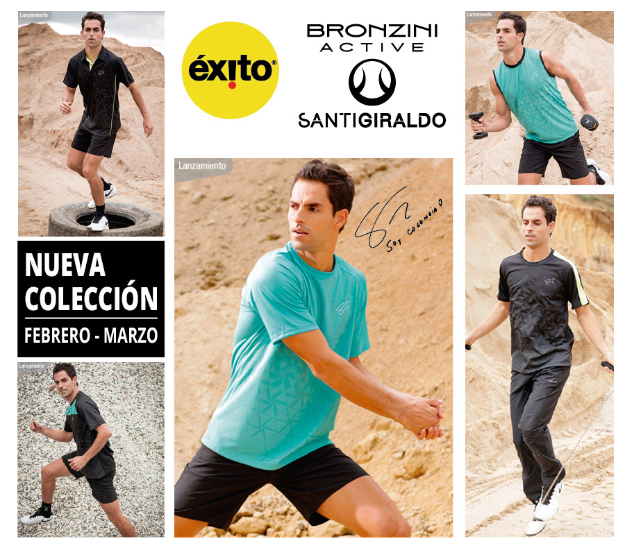 BRONZINI ACTIVE SANTI GIRALDO NEW COLECTION MARCH