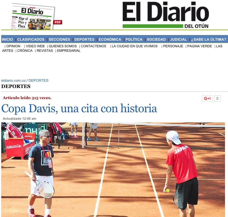 Santi Giraldo, copa davis, colombia, tenis colombiano, pereira