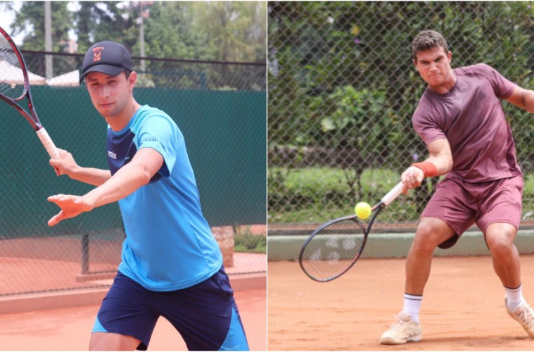 Daniel Galán y Alejandro Hoyos, jugadores profesionales embajadores de la marca Bronzini Active - Santi Giraldo